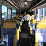 Kwibus interieur stoelen 45 personen